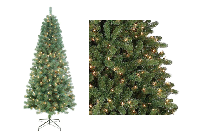 balsam pre lit christmas tree 5249 10 kohls cash regularly 16999
