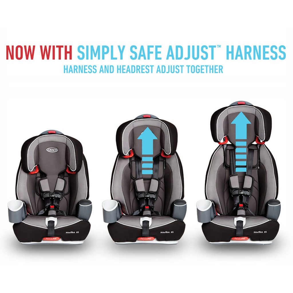 Graco Nautilus 65 3-in-1 Multi-Use Harness Booster Car Seat $89.99
