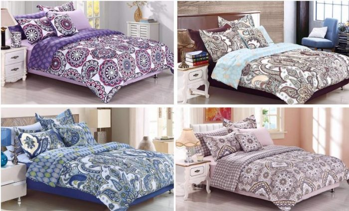 This Is A Sweet Deal On A New Bedding Set! It Includes A Comforter And  Shams, Decorative Pillow, Fitted Sheet, Flat Sheet, And Pillow Cases!