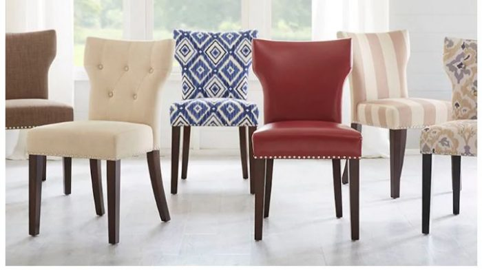 Madison Park Emilia Tufted Back Dining Chair For 5949 Shipped