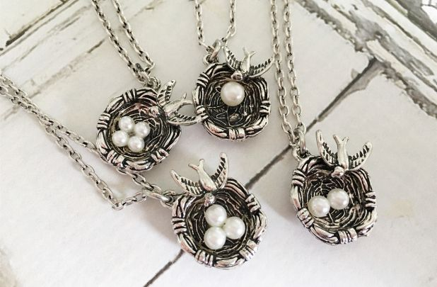 Mother bird nest heirloom necklace for 998 shipped utah sweet mother bird nest heirloom necklace for 998 shipped aloadofball Choice Image