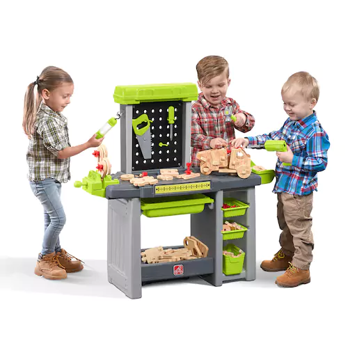 step2 power tools & projects workshop for $44.79 shipped (reg $99.99 ...