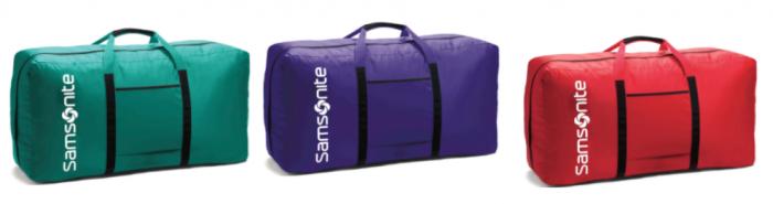 Samsonite Tote A Ton Duffle Bag 17 99 Reg 40
