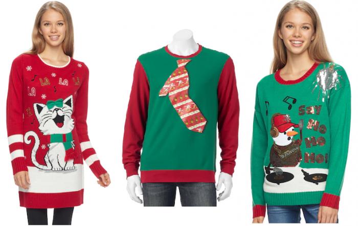 Juniors\u0027 and Men\u0027s Ugly Holiday Sweaters for $14.99! \u2013 Utah
