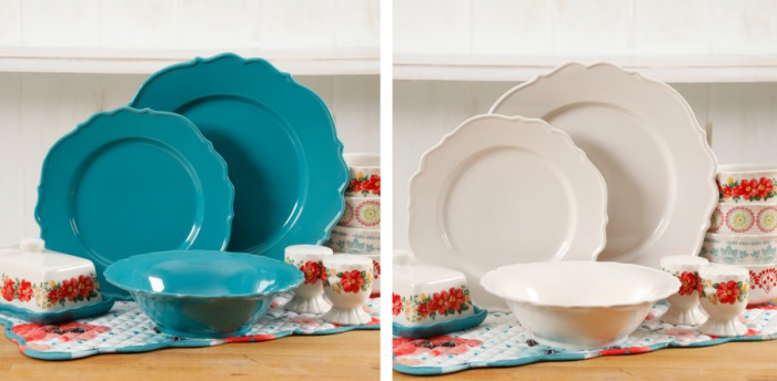 i just love this line of dinner ware surprise someone or yourself this christmas the pioneer woman