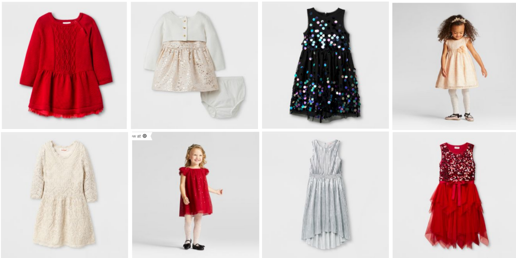 target has a great selection of girls holiday dresses for 10 20 plus today only when you spend 50 in a single transaction at target today