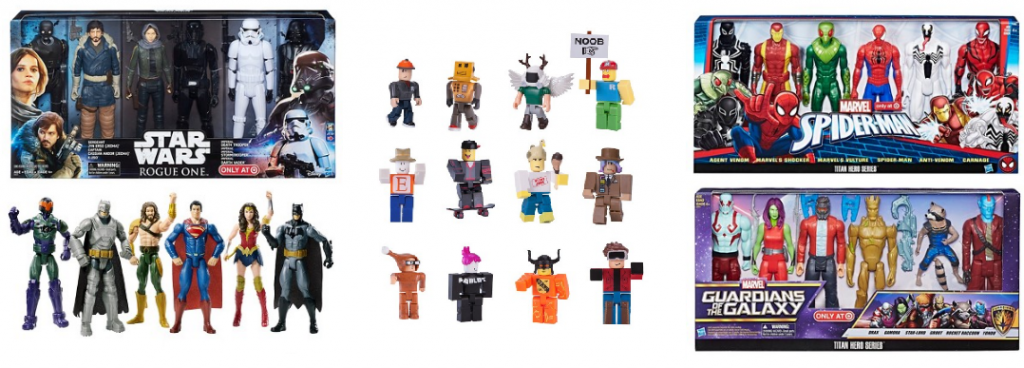Today Only Black Friday Prices On Multipack Action Figures