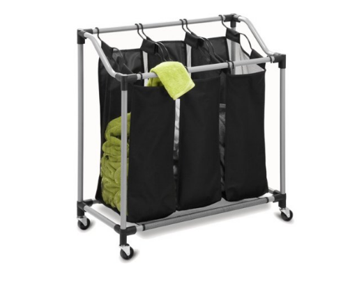 Honey Can Do Elite Triple Laundry Sorter With Removable