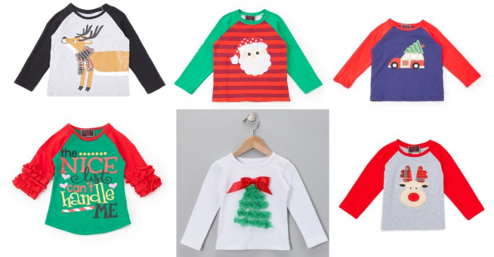 2461fe85a0da6 Royal Gem Christmas Shirts for Baby to Big Kids just $6.49 (Reg. $25 ...