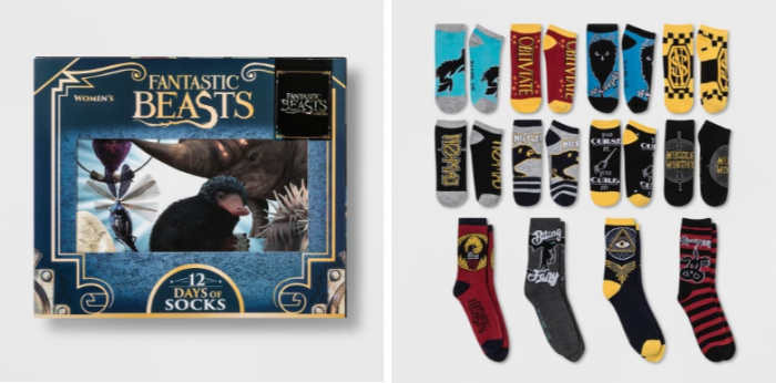bc60c9038b28e These sock sets are SO Much Fun! Target has a line of Advent Calendars that  are all socks! These include some of your favorite characters!