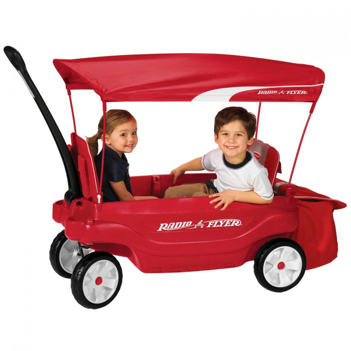 Radio Flyer Deluxe All-Terrain Pathfinder Wagon with Canopy $99.00 (regularly $139)  sc 1 st  Utah Sweet Savings & Radio Flyer Deluxe All-Terrain Pathfinder Wagon with Canopy $99.00 ...