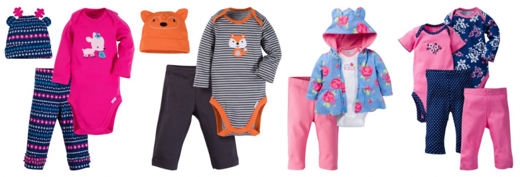 2764ce1100cf Gerber Baby Clothes on Sale! 3-Piece Outfits for  4.50