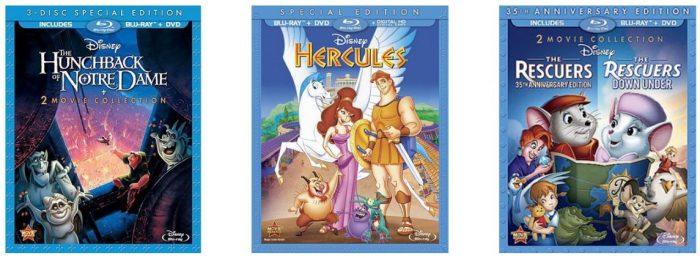 Disney Blu-ray Movies from ONLY $9 46 – Dumbo, Robin Hood