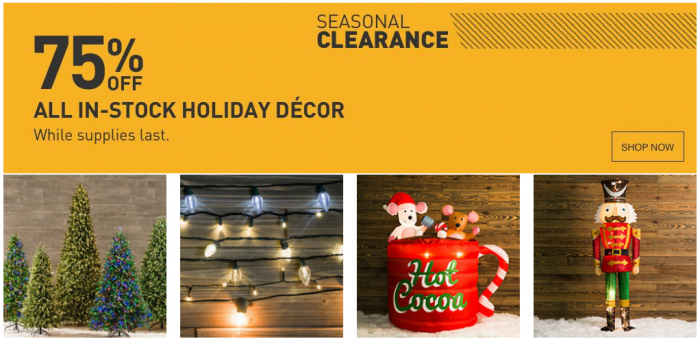 Lowes Christmas Decorations.Lowe S Christmas Clearance Now 75 Off Utah Sweet Savings