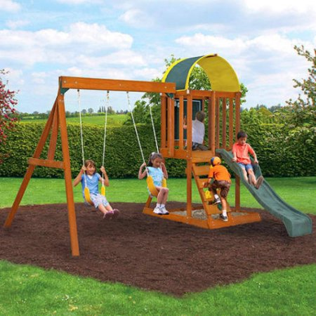 Cedar Summit Wooden Swing Set For 249 Reg 399 Utah Sweet Savings