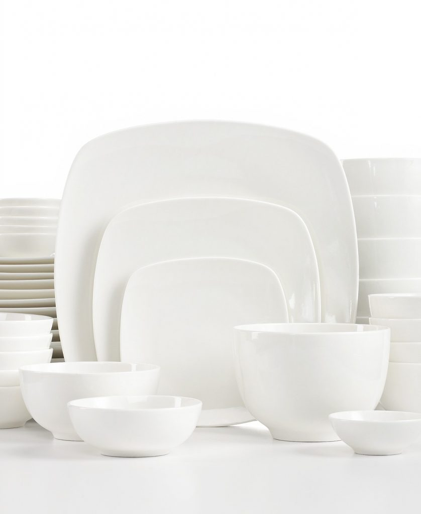 Gibson White Elements 42-Piece Sets for $55.99 (Reg $120)!  sc 1 st  Utah Sweet Savings : gibson white dinnerware sets - pezcame.com