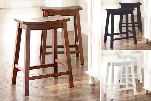 Awe Inspiring Farmhouse 2 Piece Saddle Stool Set For 49 59 10 Kohls Beatyapartments Chair Design Images Beatyapartmentscom
