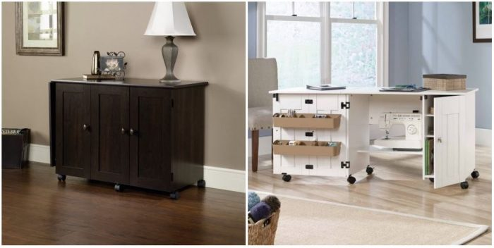 Sauder Sewing And Craft Table For 139 99 Reg 155 16