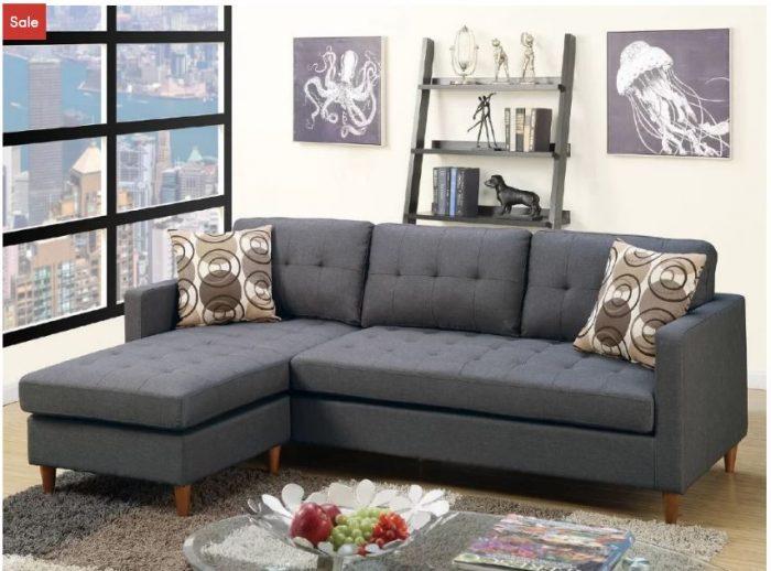 Awe Inspiring Aj Homes Studio Mendosia Sectional Sofa For 458 99 Reg Creativecarmelina Interior Chair Design Creativecarmelinacom
