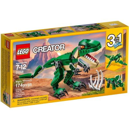 Lego creator mighty dinosaurs for just 1199 utah sweet savings my son got this set for christmas and loves it this would be a fun easter basket gift negle Choice Image