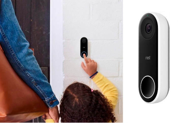 Nest Hello Smart WIFI HD Video Doorbell with Night Vision