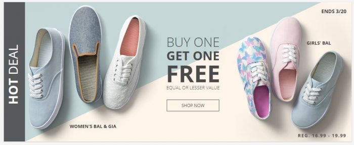 Payless: American Eagle Canvas Shoes Buy One Get One FREE! Shoes for ...