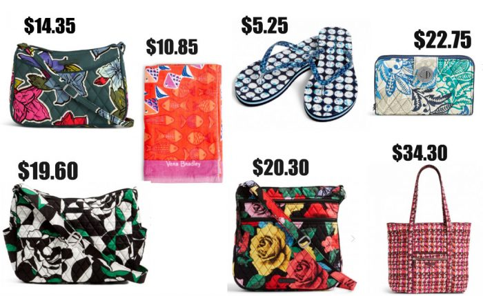 4131e20b2 Huge Vera Bradley Sale! Extra 30% Off Already Discounted Prices + ...