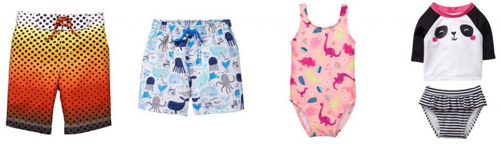 4d5a18ee63 I spotted several boys' swim trunks for $11.99, so only $6 after code  FRIENDSRFAMILY. There were also girls' swimsuits from $14.99, so just $7.50  after the ...