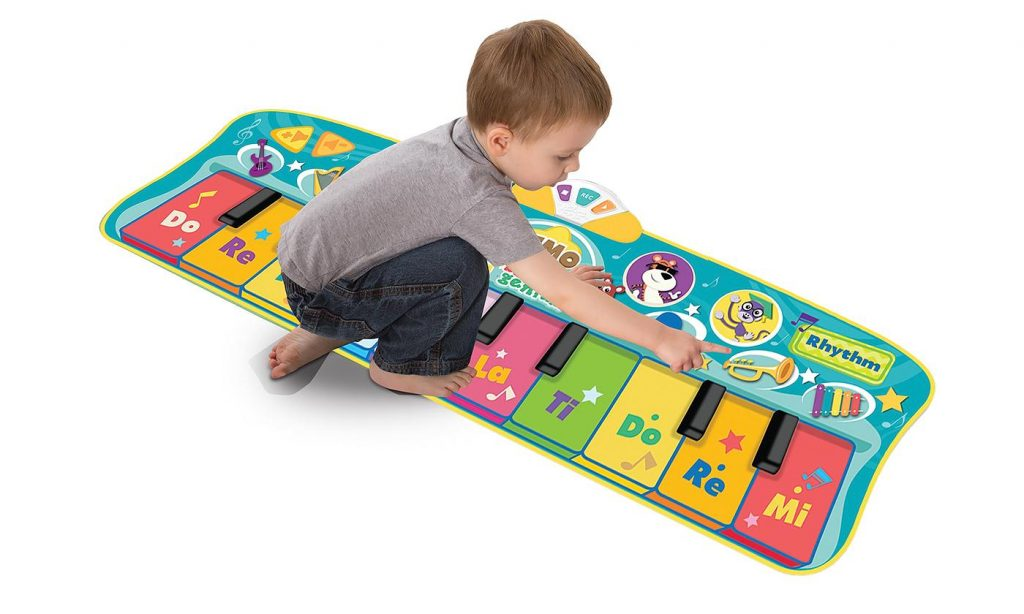 Musical Toys For Toddlers : Baby genius step to dance junior piano mat for only $23.99 reg
