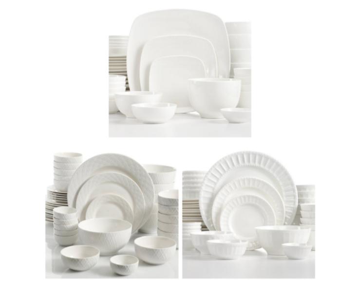 Gibson White Elements Dinnerware Sets $37.99 (reg $120)  sc 1 st  Utah Sweet Savings & Gibson White Elements Dinnerware Sets $37.99 (reg $120) u2013 Utah Sweet ...