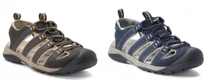 e8a7c877048 Croft & Barrow® Legato Men's Ortholite Fisherman Sandals $16.99 (reg ...