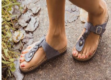 71b42d7bf2b I love these sandals. The braided strap is so pretty! Choose from lots of  colors including bronze
