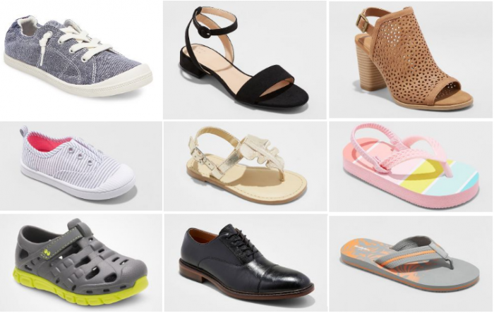 491e4a3ffd Through April 28, Target is offering an extra 20% off select men's, women's  and kids' shoes when you use code SHOES at checkout!