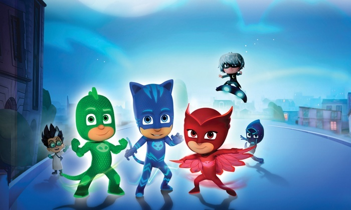HOT! Extra 20% Off Code!* PJ Masks Live!: Time To Be A Hero