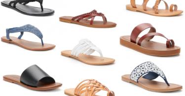 c8404d3c4f8 Sonoma Goods for Life Women s Sandals for  7.99 (Reg  20)!