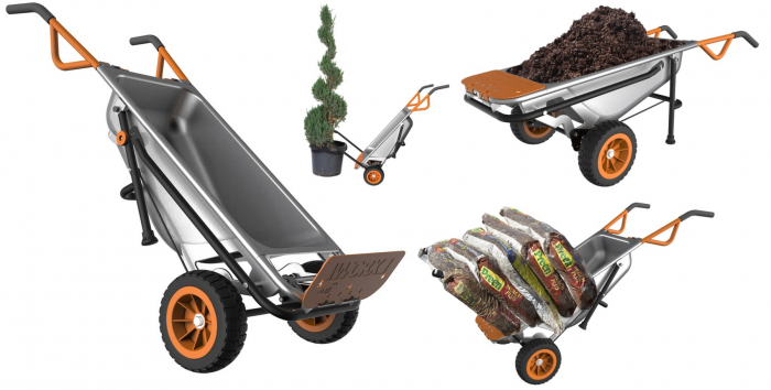 It S Time To Get Those Yard Projects Taken Care Of And You Won T Regret Having This Multi Purpose Wheelbarrow Around Make Things Easier Worx Aerocart