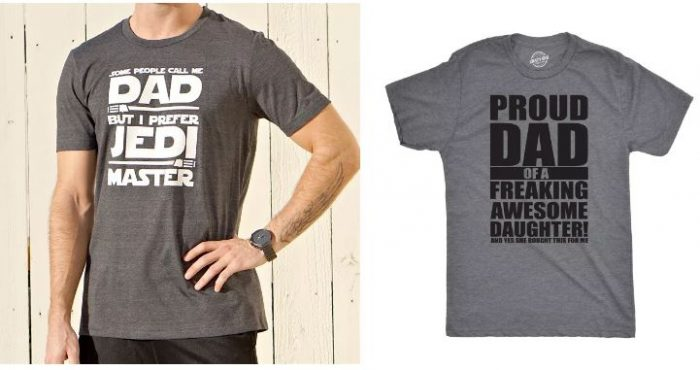 Star Wars Inspired Dad Shirts for $17.98 Shipped or Funny ...