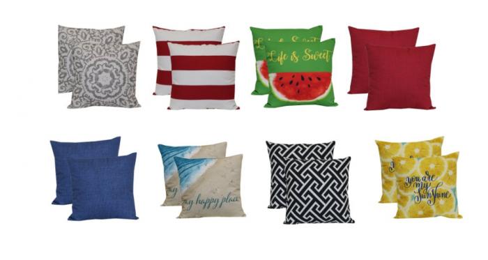 Mainstays Outdoor Toss Pillows Only 5 Utah Sweet Savings