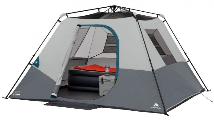 Ozark Trail 6 Person Instant Cabin Tent with built in Lights