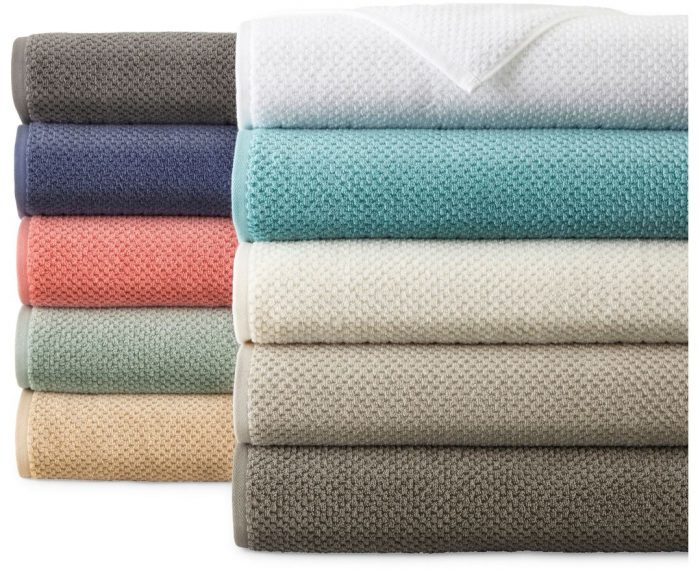JCPenney Home Quick Dri Textured Solid Bath Towels for  3.49 (Reg  14)! Bath  Sheets for  4.89! cf4818964