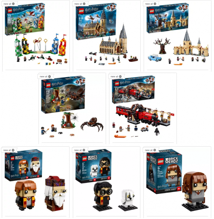 Harry Potter Book Set Target : New harry potter lego sets at target utah sweet savings