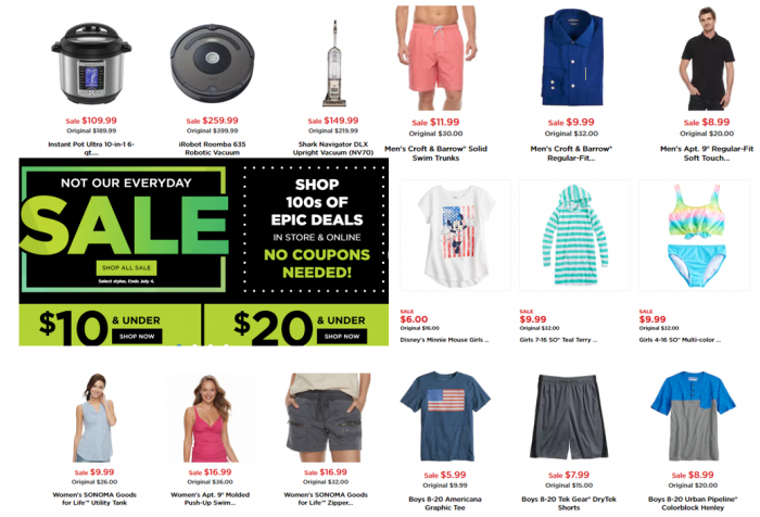 Kohls Sale Deals Under 10 No Coupons Needed Utah