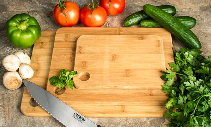 Bamboo Cutting Board Set 3 Piece For Just 999 Reg 4999