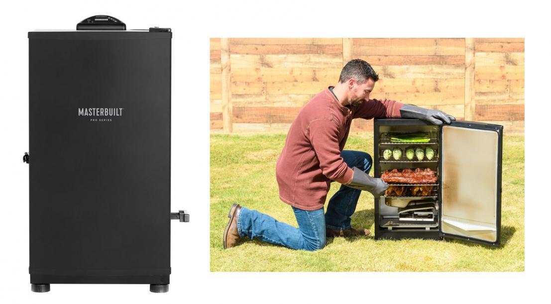Masterbuilt MES 130B Digital Electric Smoker Outdoor Fryers ...