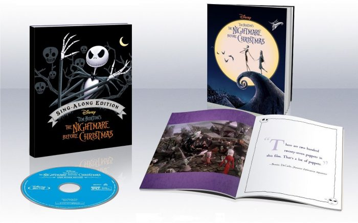 The Nightmare Before Christmas 25th Anniversary Edition (Blu-Ray + ...