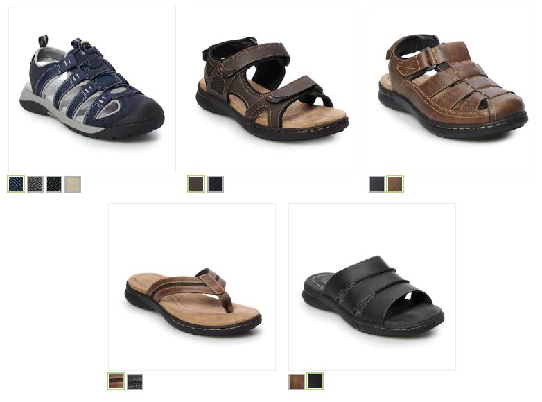 5078190d3 Croft & Barrow Men's Sandals $11.99 (reg $59.99)! *5 Styles* – Utah ...