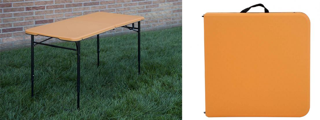 Cosco 4 Indoor Outdoor Adjustable Height Center Fold