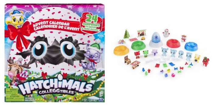 Calendrier De L Avent Hatchimals.Hatchimals Colleggtibles Advent Calendar Spielzeug