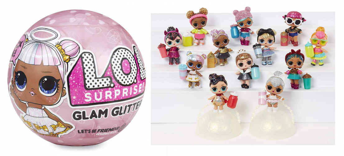 LOL Surprise Glam Glitter Series Doll With 7 Surprises  FREE 2 DAY SHIPPING