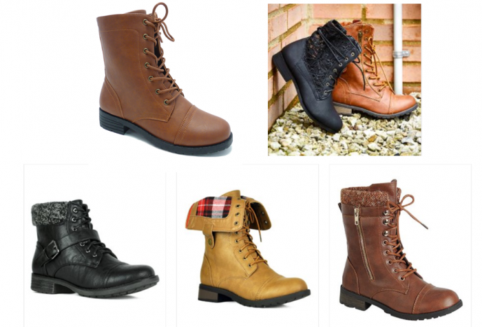 2a8eda35d85 Lace Up and Combat Boots starting at $18.99!! – Utah Sweet Savings